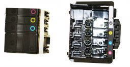 HP OfficeJet Pro 8600 Series Printhead and Starter Inks Kit - OEM